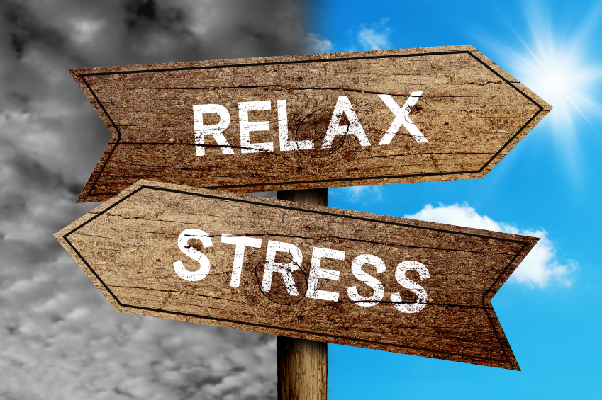 how to give a forever rest to stress?