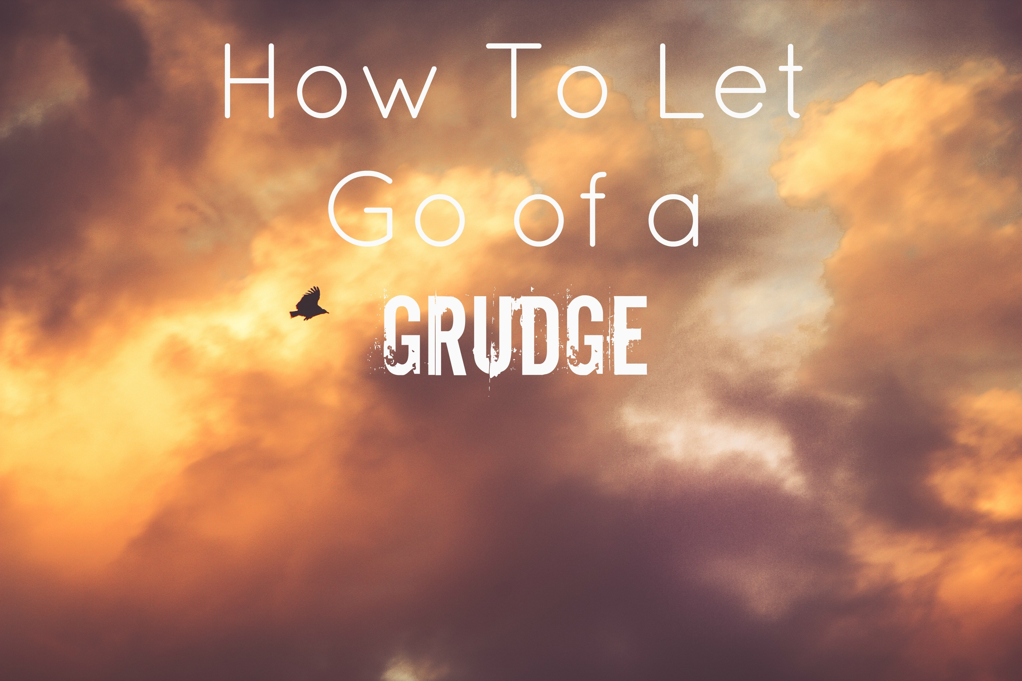Grudge: a senseless asset! learn how to let go grudge.