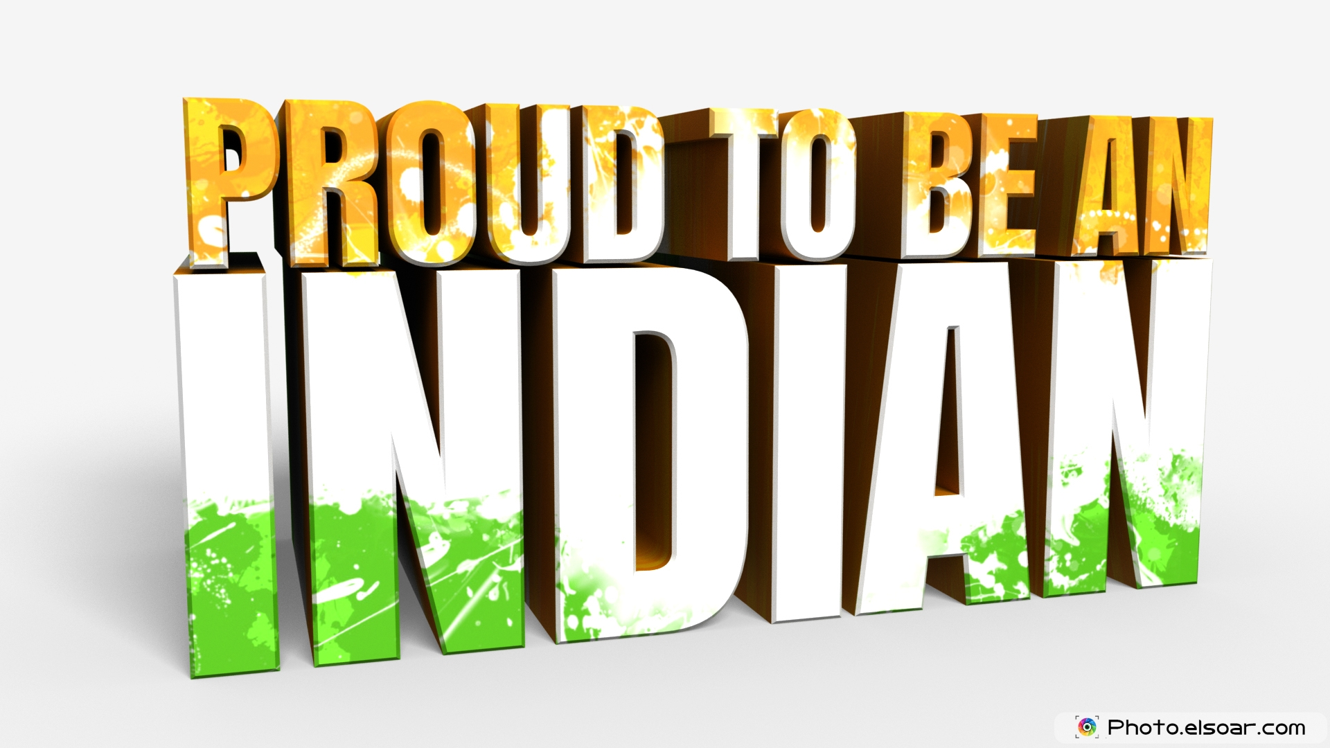 """Am I proud to be an Indian?"", Ask this question to yourself."