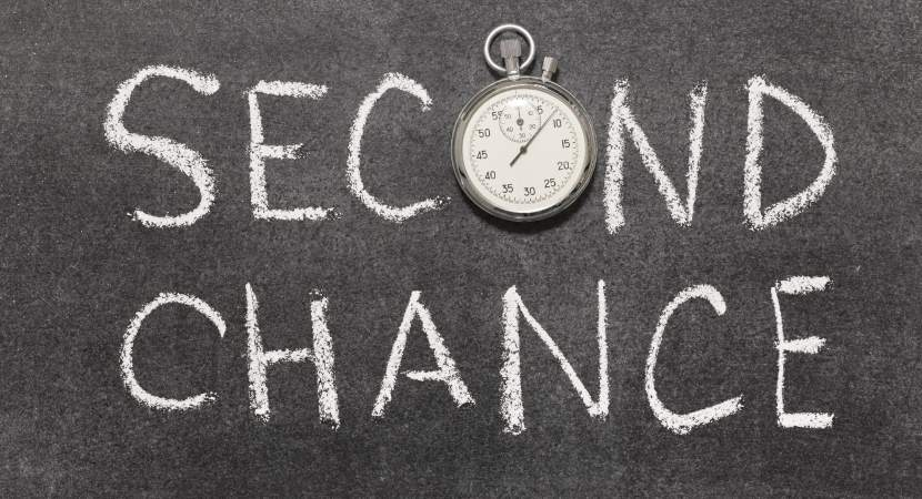 Do you believe in second chances? Read this Blog to know your calibre