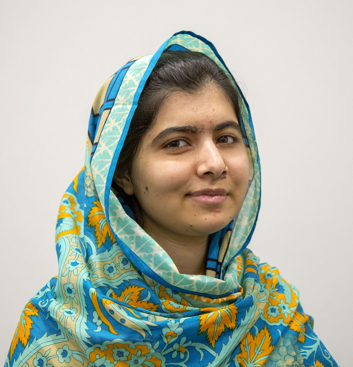 Malala Yousafzi- Exemplary Portrait of Bravery