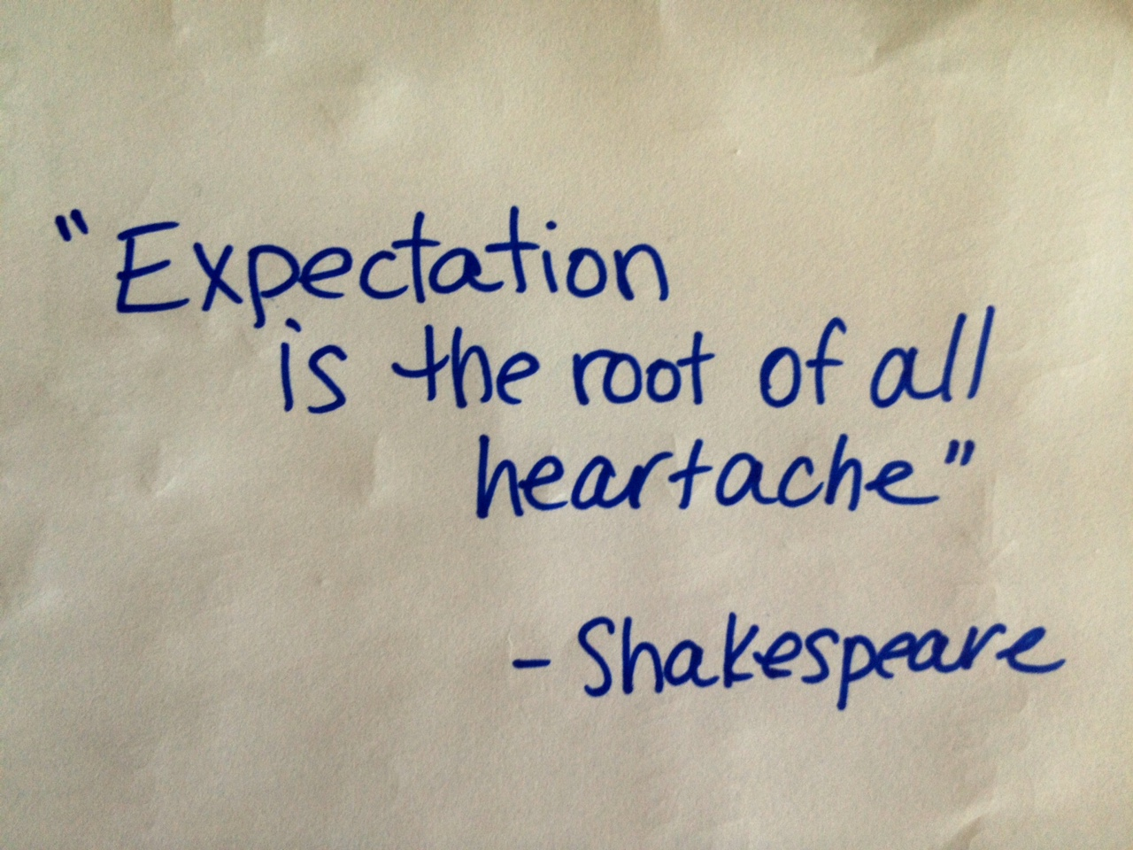 Is expectation good in your life? Read this blog to know the facts
