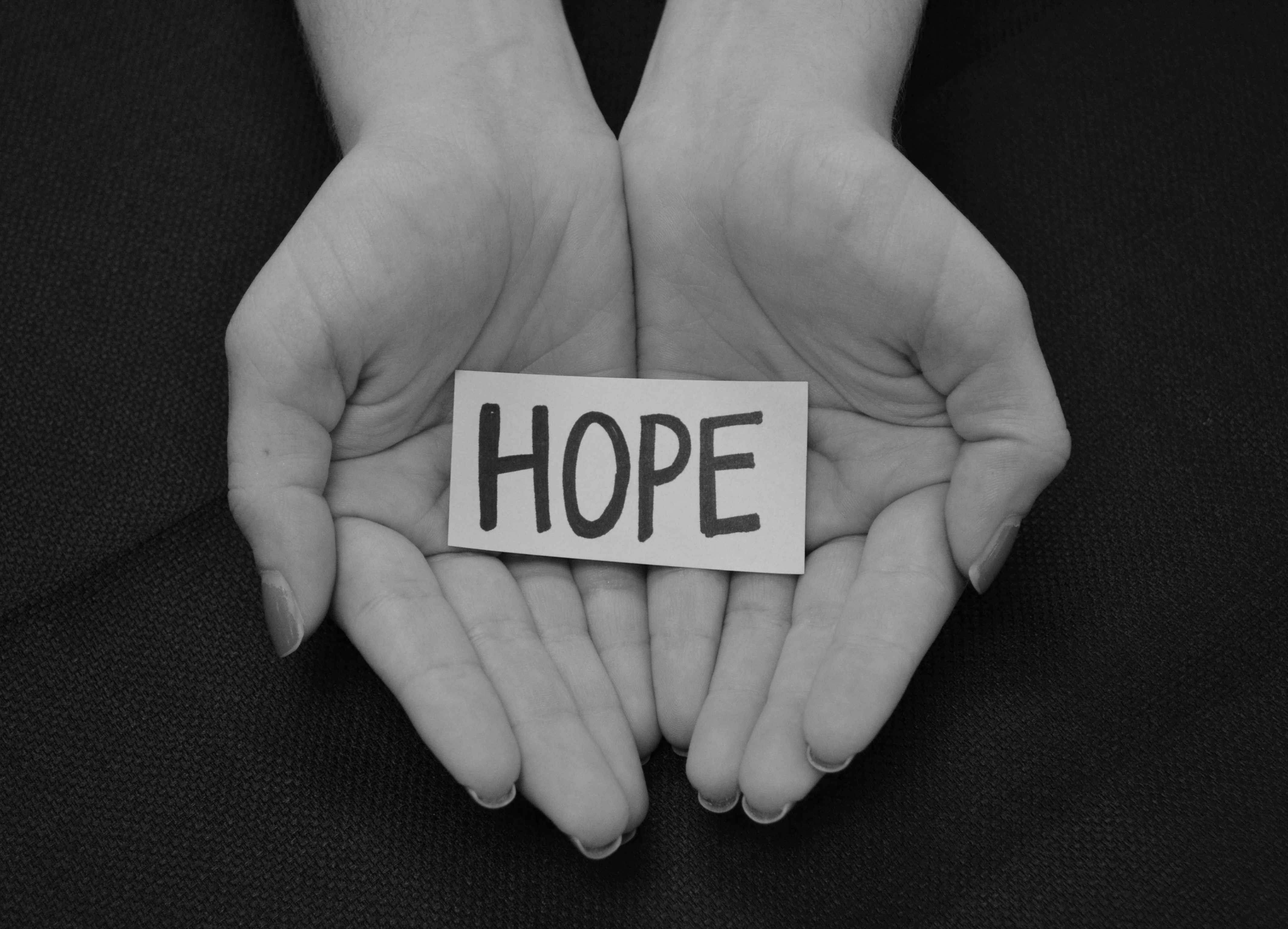 Hope – Let us reinstate that feeling