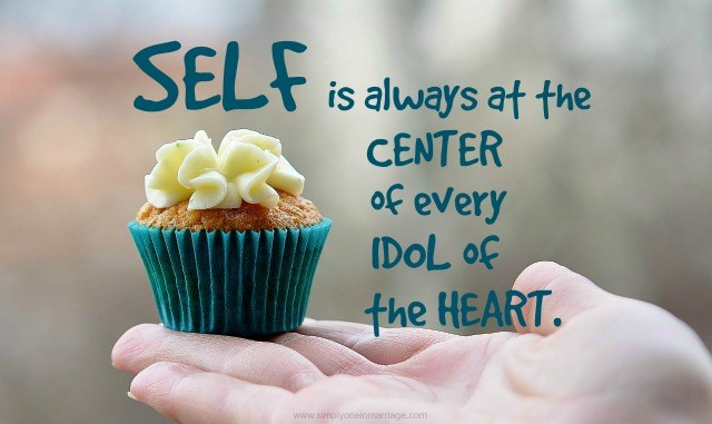 Be the self idol so that someday you will be honored as the inspiration for the whole universe!