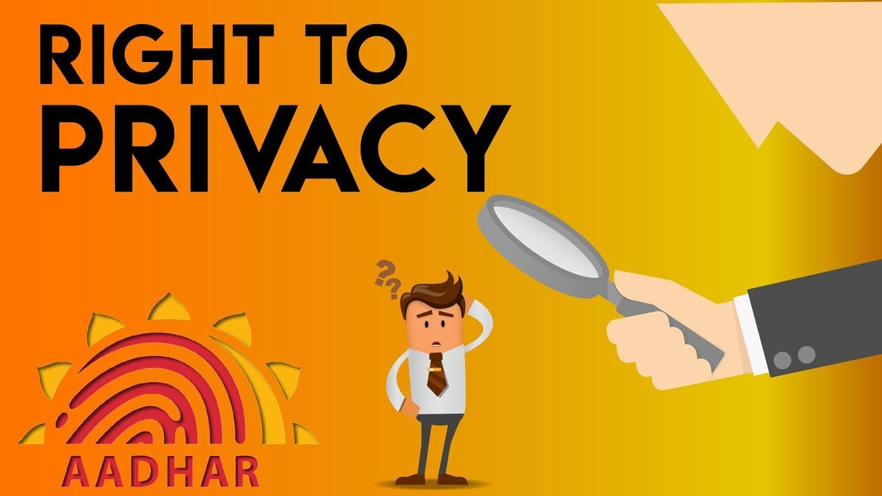 Thing you must know about the Right To Privacy