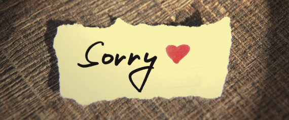 It is never too late to apologize