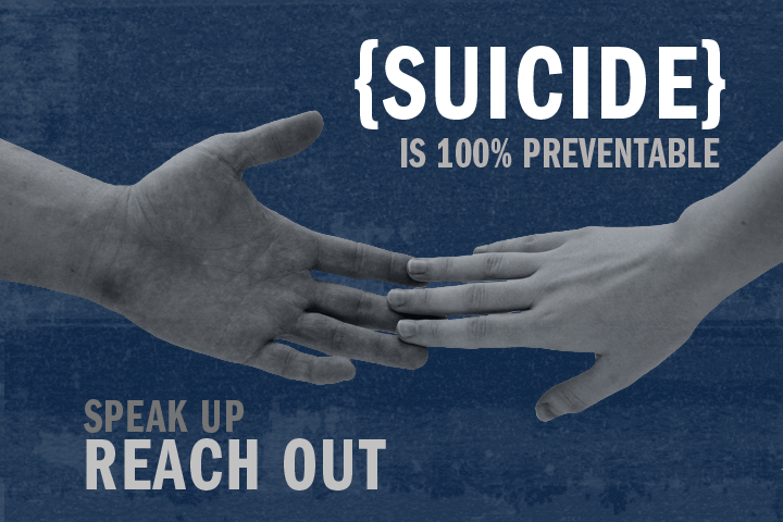 Take a minute, change a Life – #SuicidePreventionWeek
