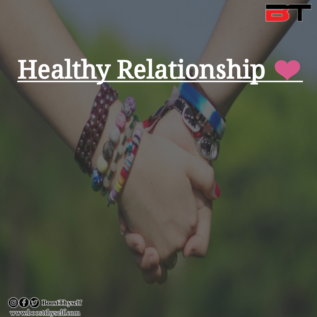 How To Keep a Healthy Relationship?