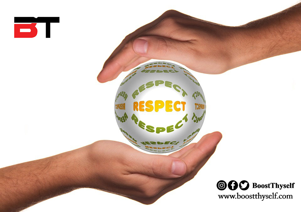 RESPECT IS A TWO-WAY STREET