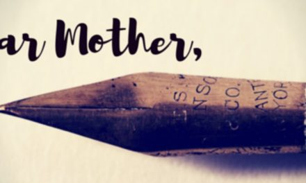 Why do I have to choose? A letter from a daughter to her mother.