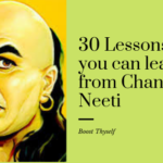 30 Lessons  you can learn from Chanakya Neeti