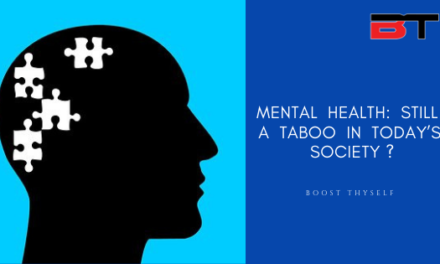 MENTAL  HEALTH:  STILL  A  TABOO  IN  TODAY'S  SOCIETY ?