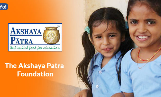 The Akshaya Patra Foundation which feeds Mid-Day Meals to children.